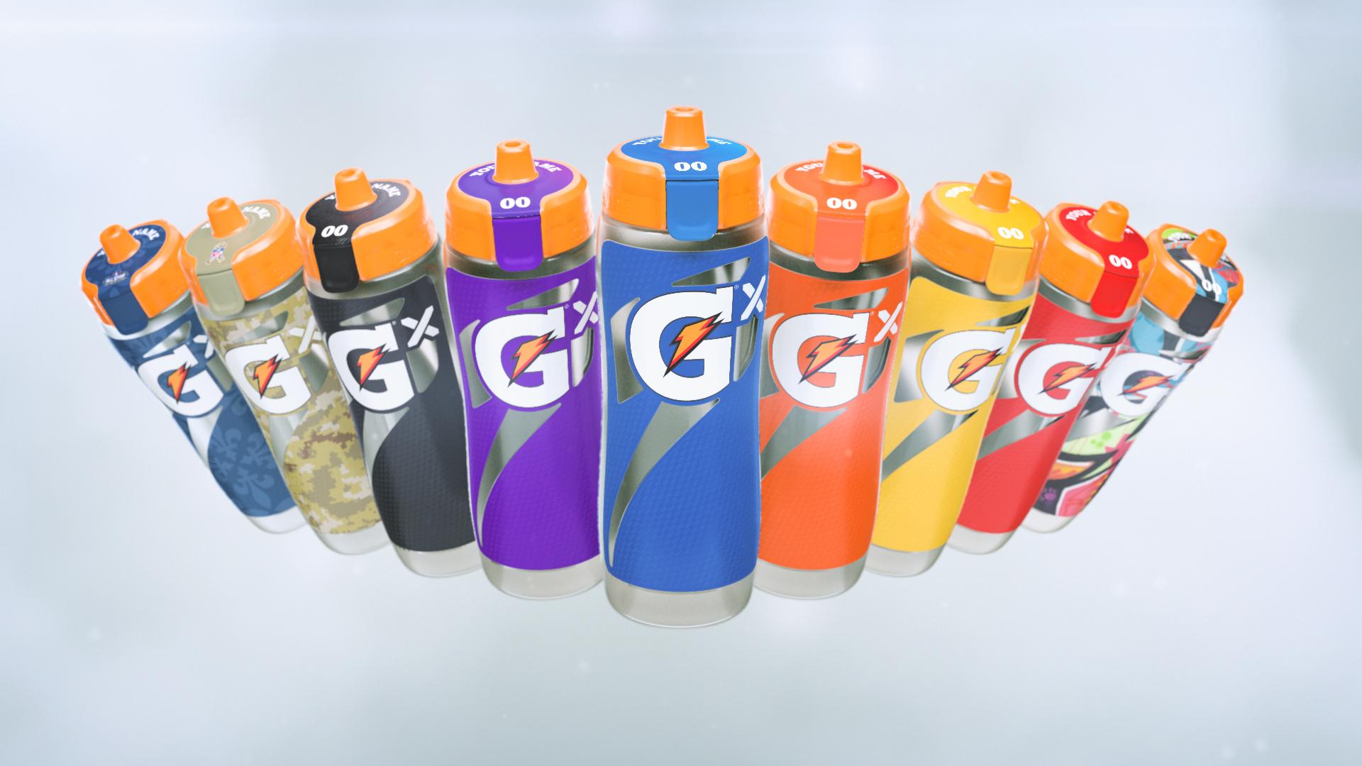 Gatorade Gx Colors
