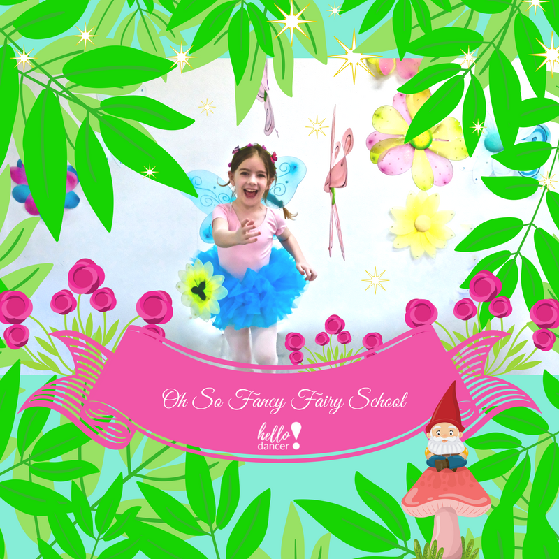 Oh So Fancy Fairy School - June 4th - 8thAges 3-5 9:00-11:30am ($70 Early Bird/ $85 Regular) +$15 Act. FeeAges 5-12 -9:00am-3:00pm ($130 Early Bird/$165 Regular)+$25 Act.FeeHappiness truly comes in tiny packages at Oh So Fancy Fairy School! Join us for fairy lessons in the glittery garden, where your dancer will delight in blooming ballet and twinkling tap! This camp includes petite pixie dusty crafts and whimsical wings!