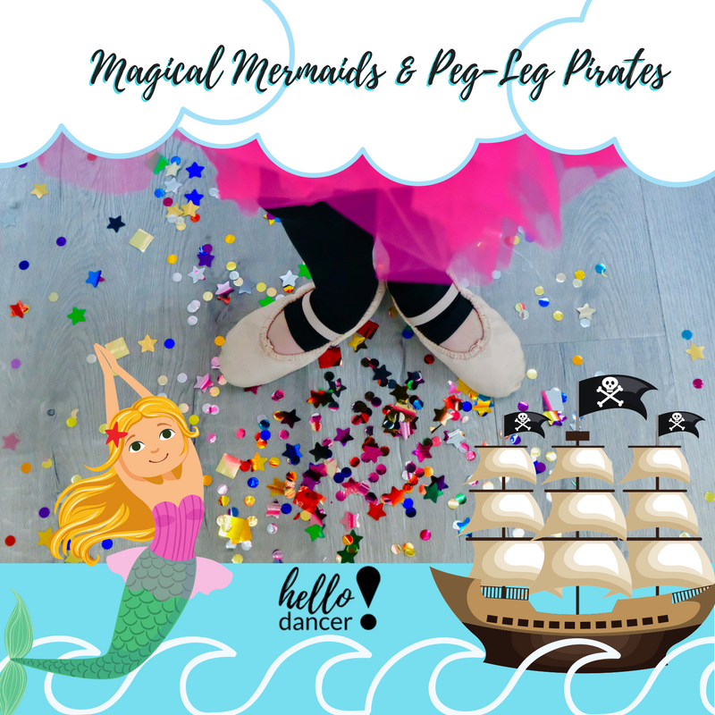 Magical Mermaids & Peg-leg Pirates - June 25th-29thAges 3-5 -9:00-11:30am ($70 Early Bird/ $85 Regular) +$15 Act. FeeAges 5-12 -9:00am-3:00pm ($130 Early Bird/$165 Regular)+$25 Act.FeeScour the deep seas in search of the ancient sunken treasure of the Santa Maria and swim the crystal blue waters like a mermaid bringing magic to all you encounter. This camp will have you using all of your imagination to become a Pirate and a Mermaid trying to tame the seas and find the gold coins.