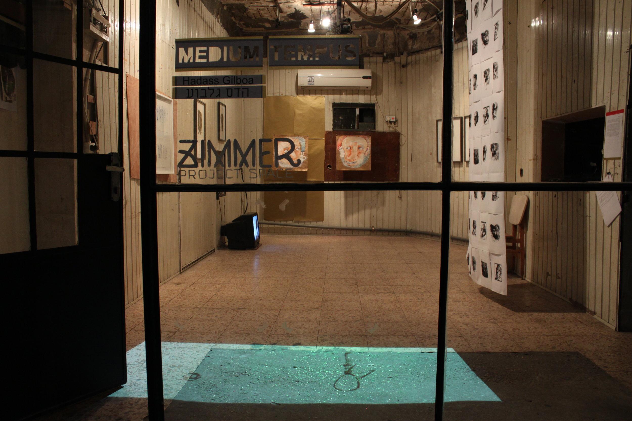 Installation view, Medium Tempus, Zimmer Gallery, December 2015