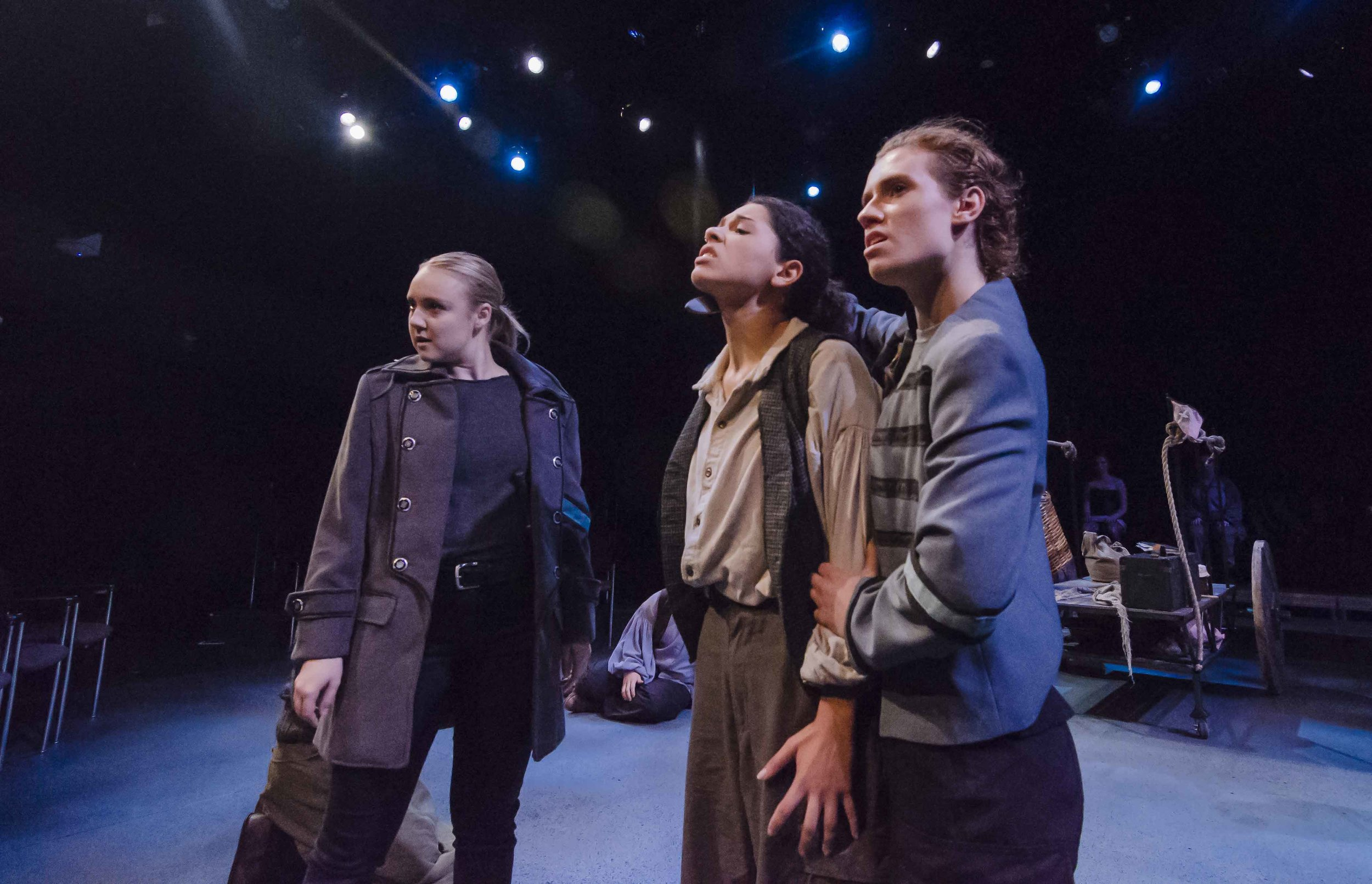 Mother Courage and Her Children, directed by Jeremy Ohringer. Photo by Kalman Zabarsky