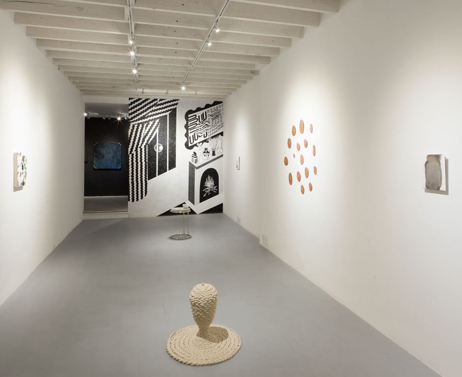 Image: Moon Room, Installation view at Narwhal   LINK TO ARTICLE HERE:    https://www.tusslemagazine.com/moonroom