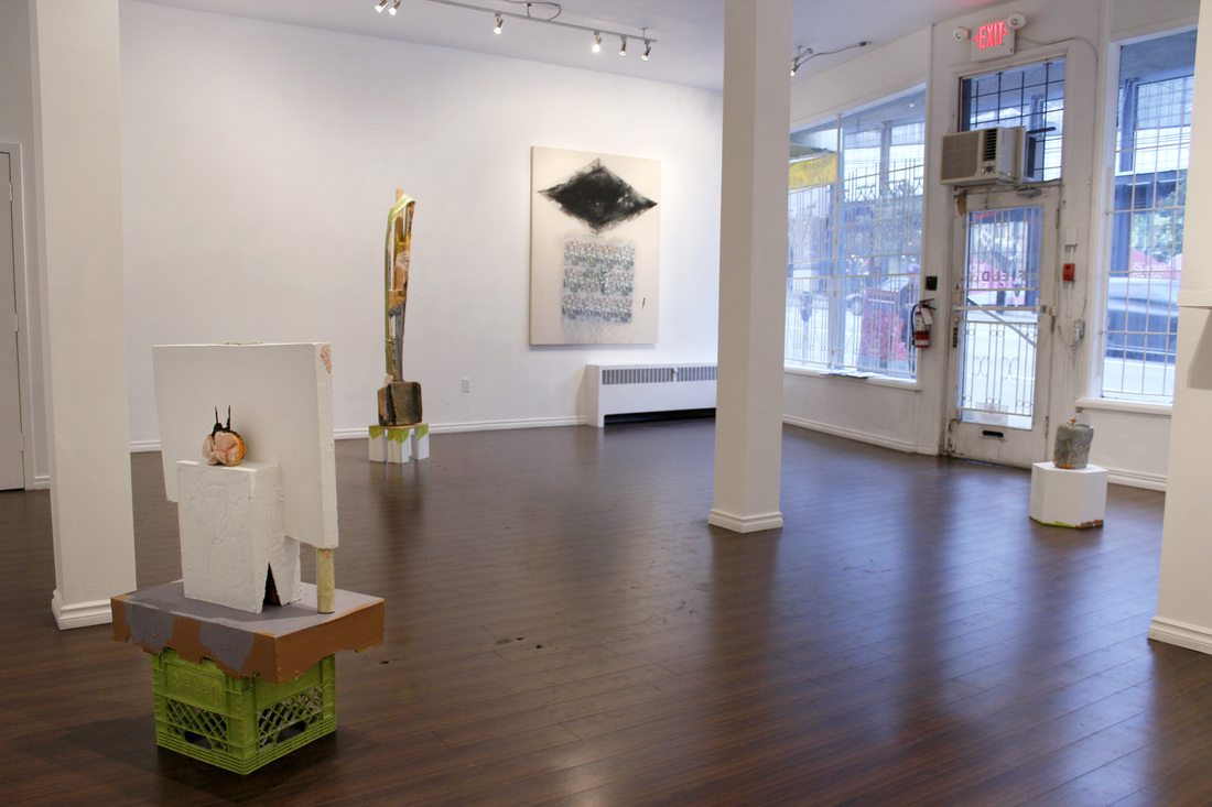 Image: N I R D V A N D V A Installation view, Kuh Del Rosario and Scott Lewis, 2014   LINK HERE:    http://www.field-contemporary.com/n-i-r-d-v-a-n-d-v-a-exhibition-images.html