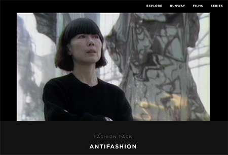 Rei Kawakubo in  Antifashion