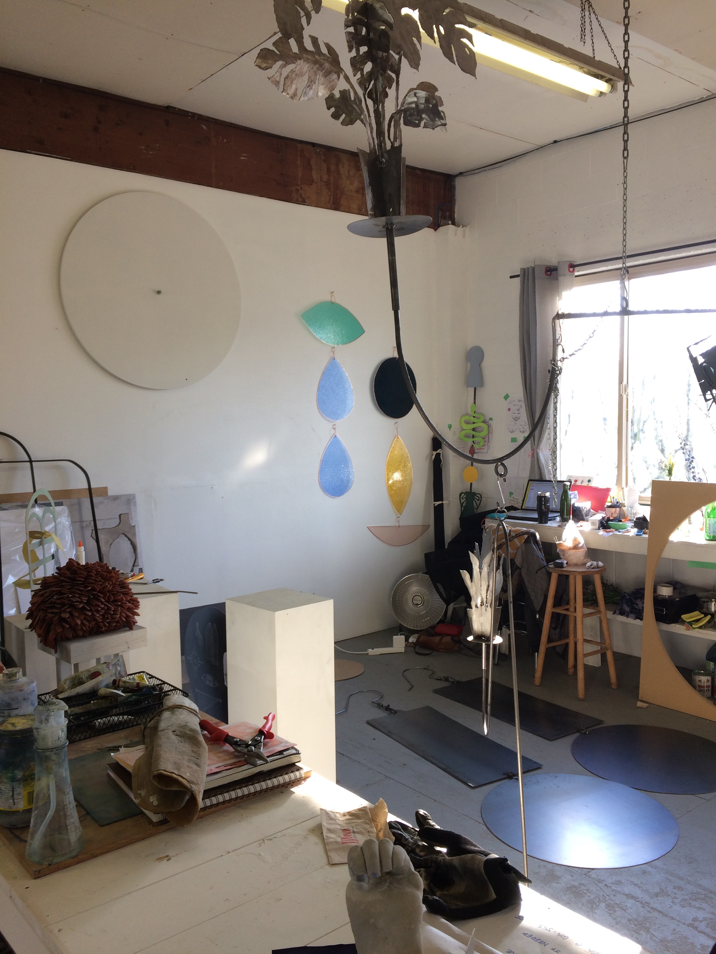 Image: Vanessa Brown's studio.  LINK TO PODCAST HERE:   http://www.overlydedicatedpodcast.ca/e/episode-4-vanessa-brown/