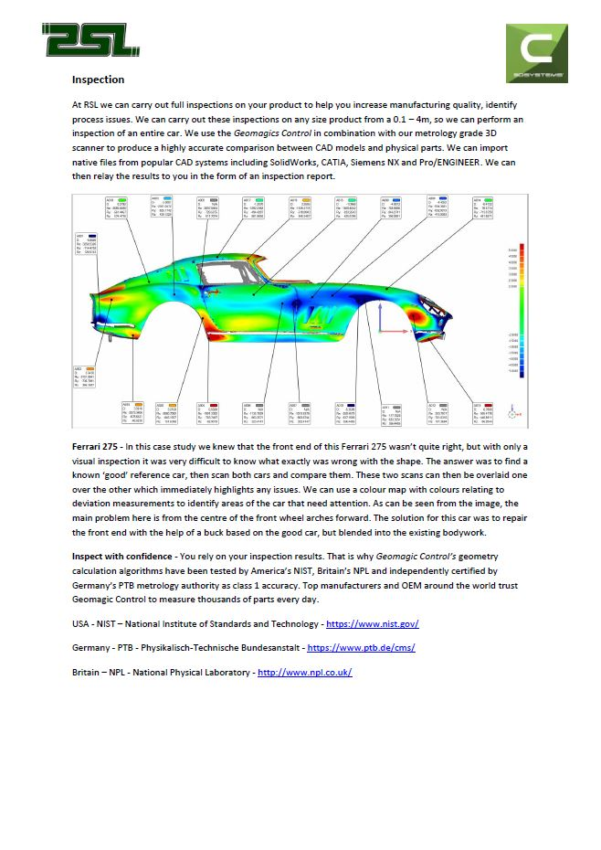 Click to Download PDF  Product Inspections  This PDF contains information about our reverse Inspection service