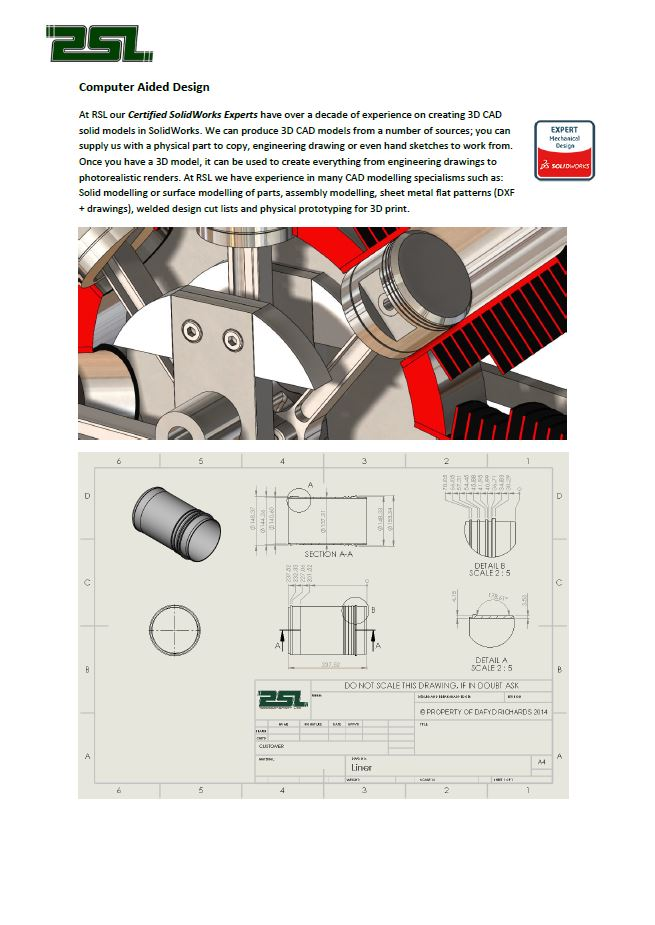 Click to Download PDF  Computer Aided DESIGN  This PDF contains information about our reverse CAD service
