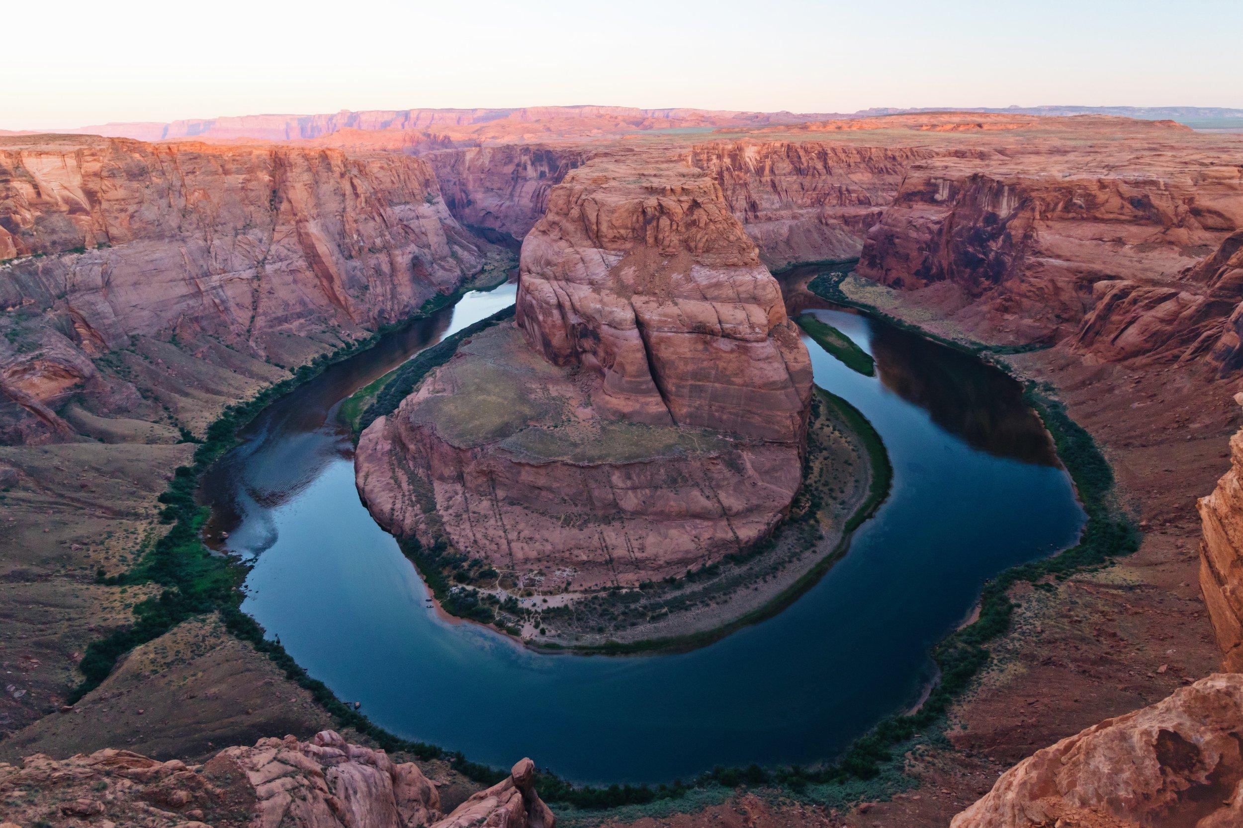 Horseshoe Bend Sunrise - Arizona