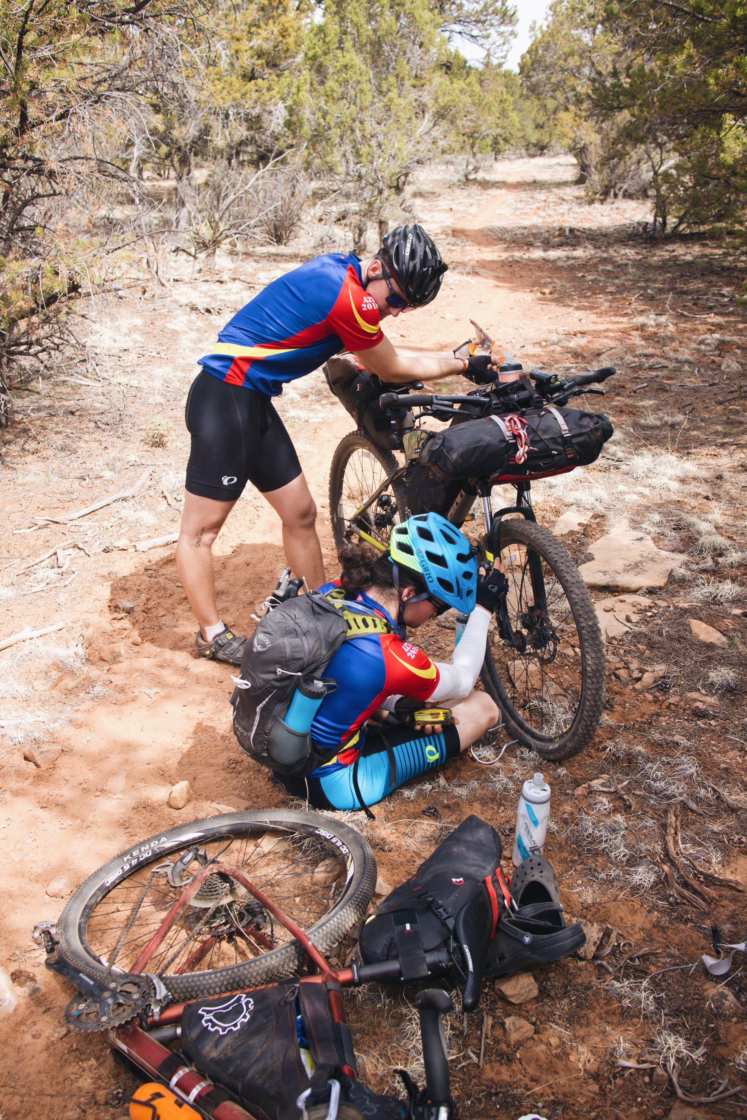 Bike maintenence stop