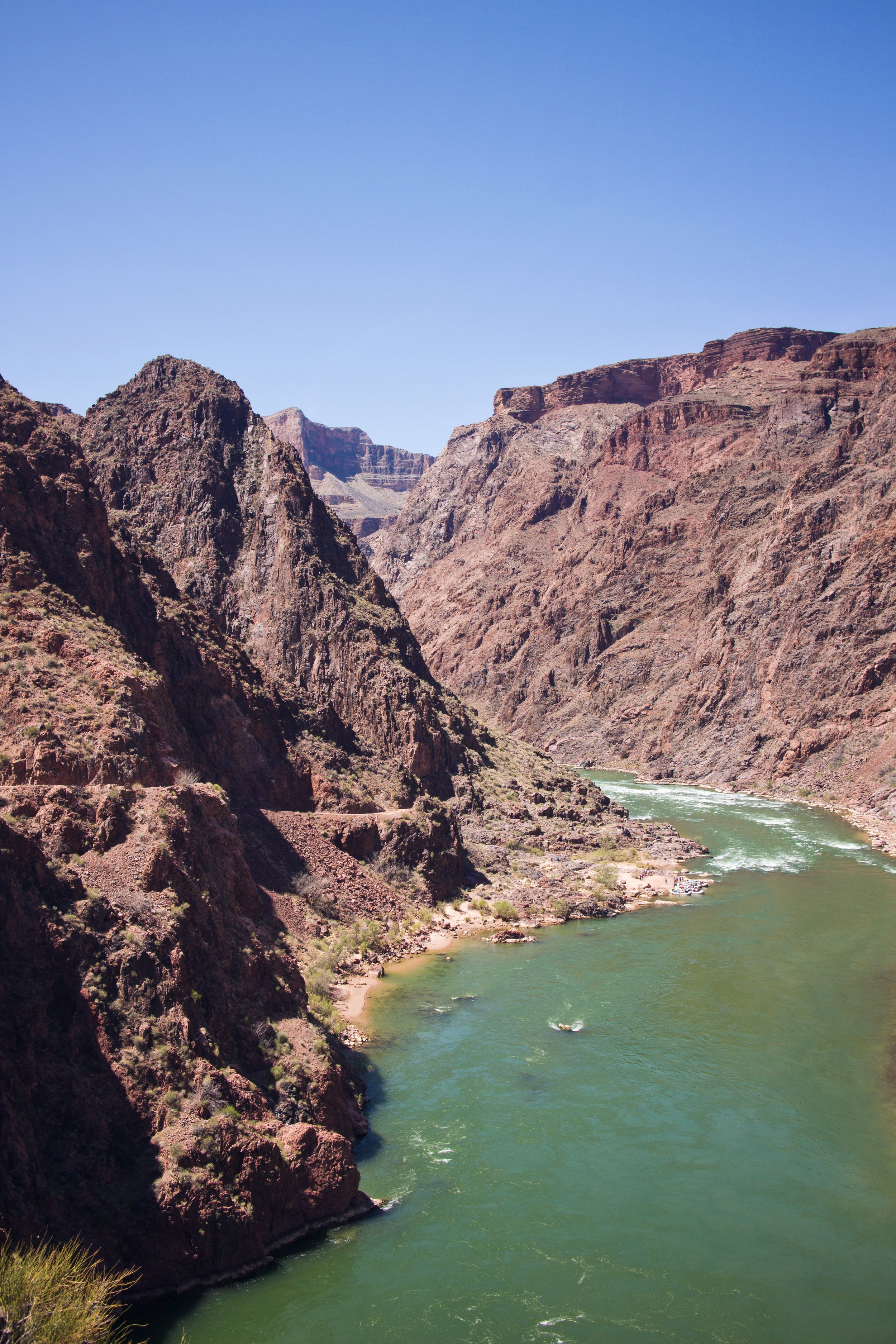 Great views of the river and canyon