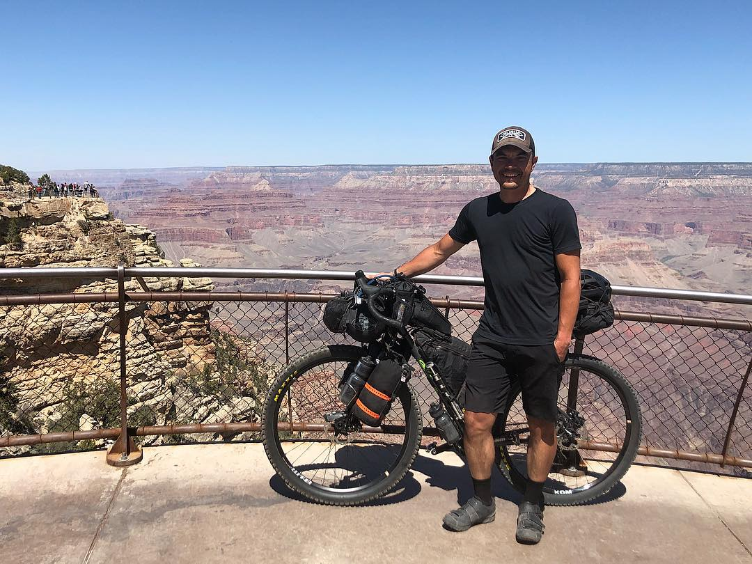 A shot of Dio at the Grand Canyon from his Instagram page