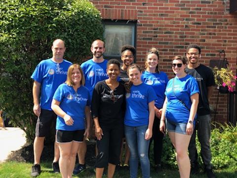 Wonderful volunteers from Hyatt Regency Buffalo!