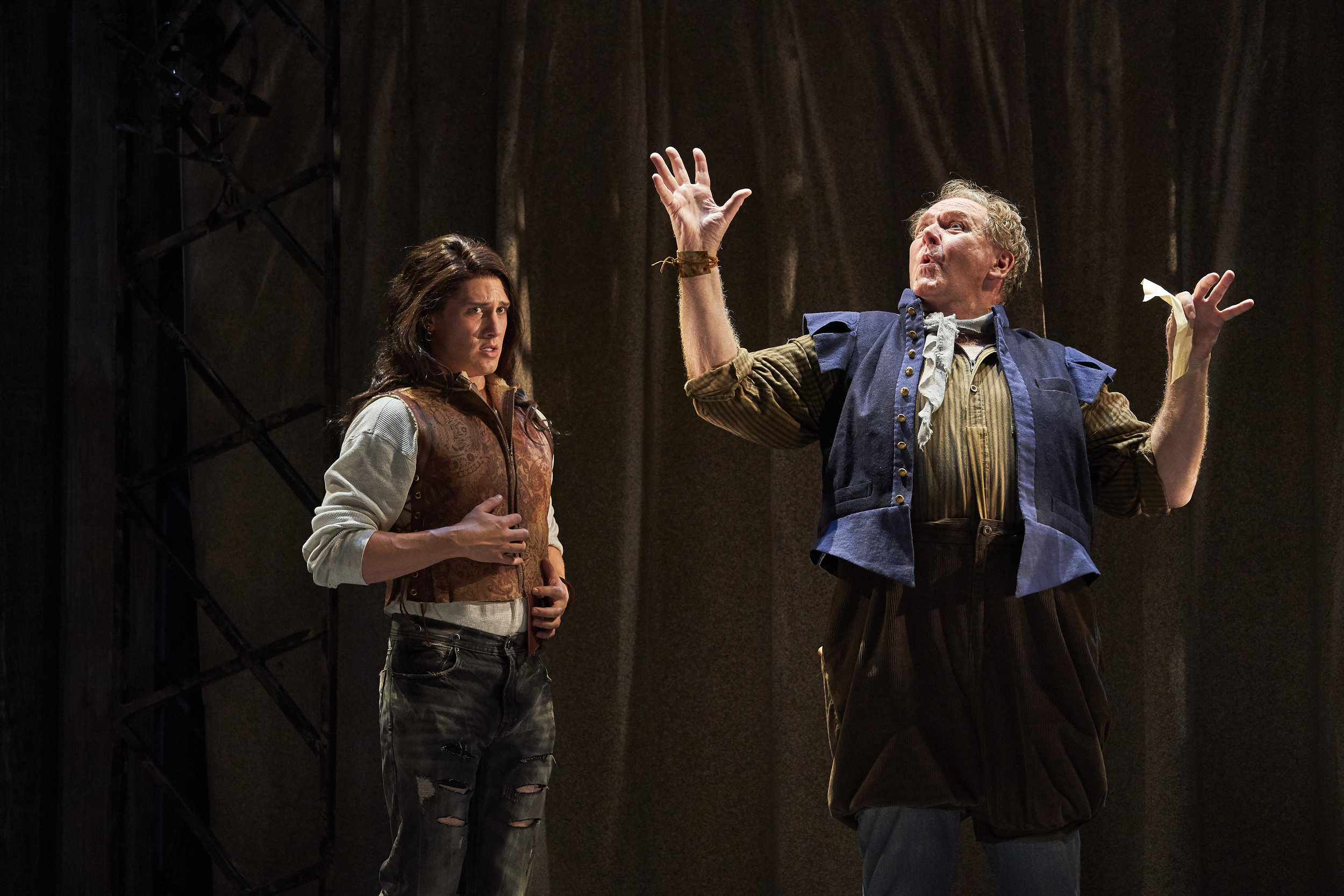 Sam in  Shakespeare in Love , Cleveland Play House. Photo Credit: Roger Mastroianni.
