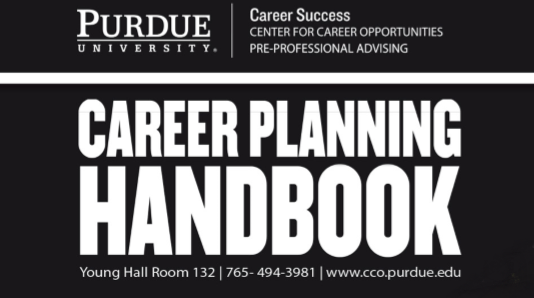 Resume Templates and Guides - The Purdue CCO's comprehensive Career Planning Handbook is a fantastic resource for cover letters, interview tips, resumes, CV's and more!
