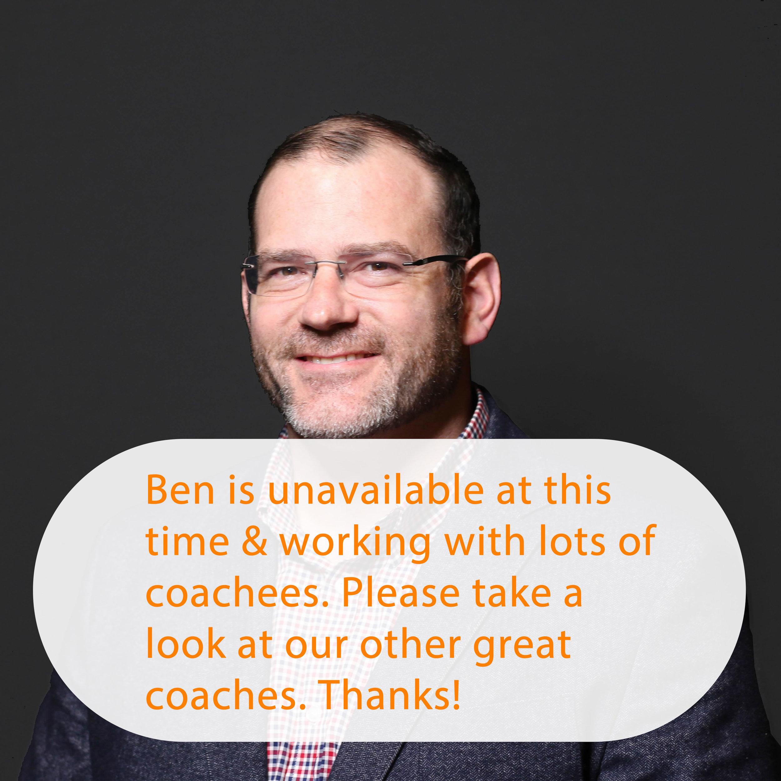Ben Williams is Unavailable.jpg