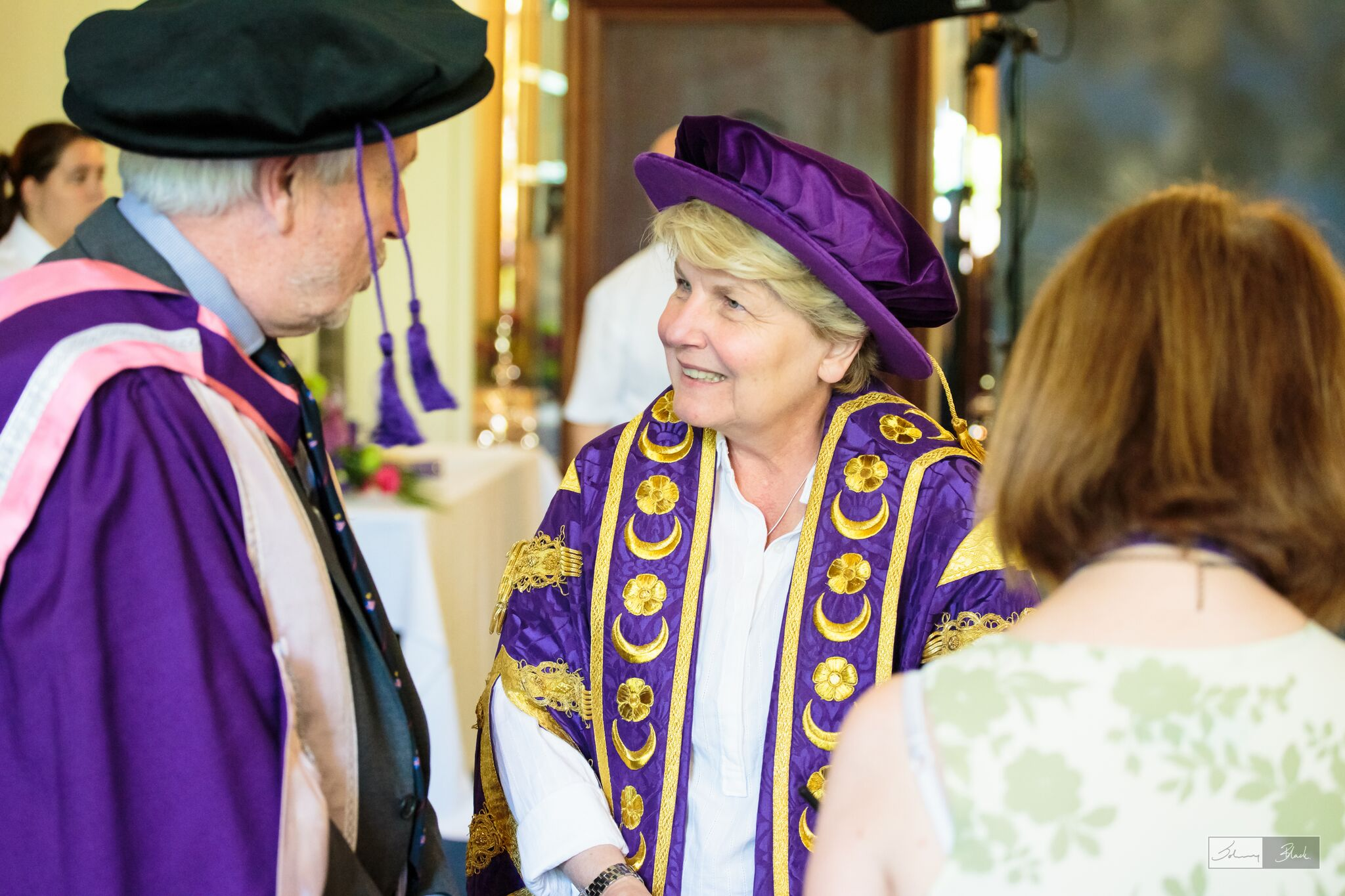 Team Britannia's skipper receives an Honorary Doctorate from the University of Portsmouth.