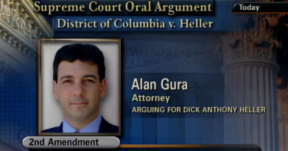 ALAN GURA - First Chair Attorney, Gura & Possessky, PLLCD.C. vs. HELLER