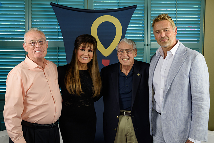 Children's Miracle Network Hospitals Founders - (L to R) Joseph G. Lake, Marie Osmond, Mick Shannon, John Schneider