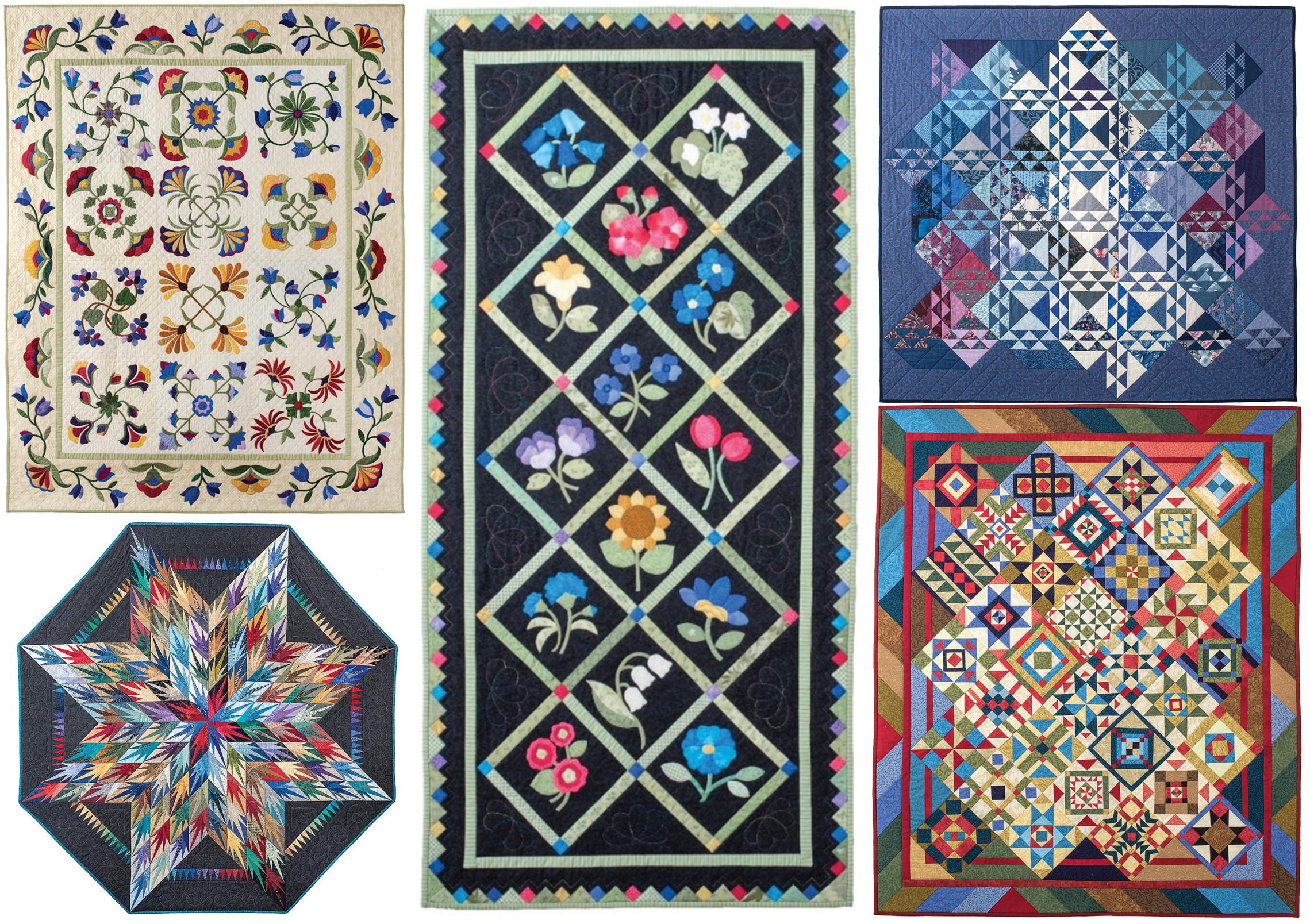 The amazing quilts that inspired the composers for the  Quilt Songs  cycle. You won't want to miss their musical interpretations!