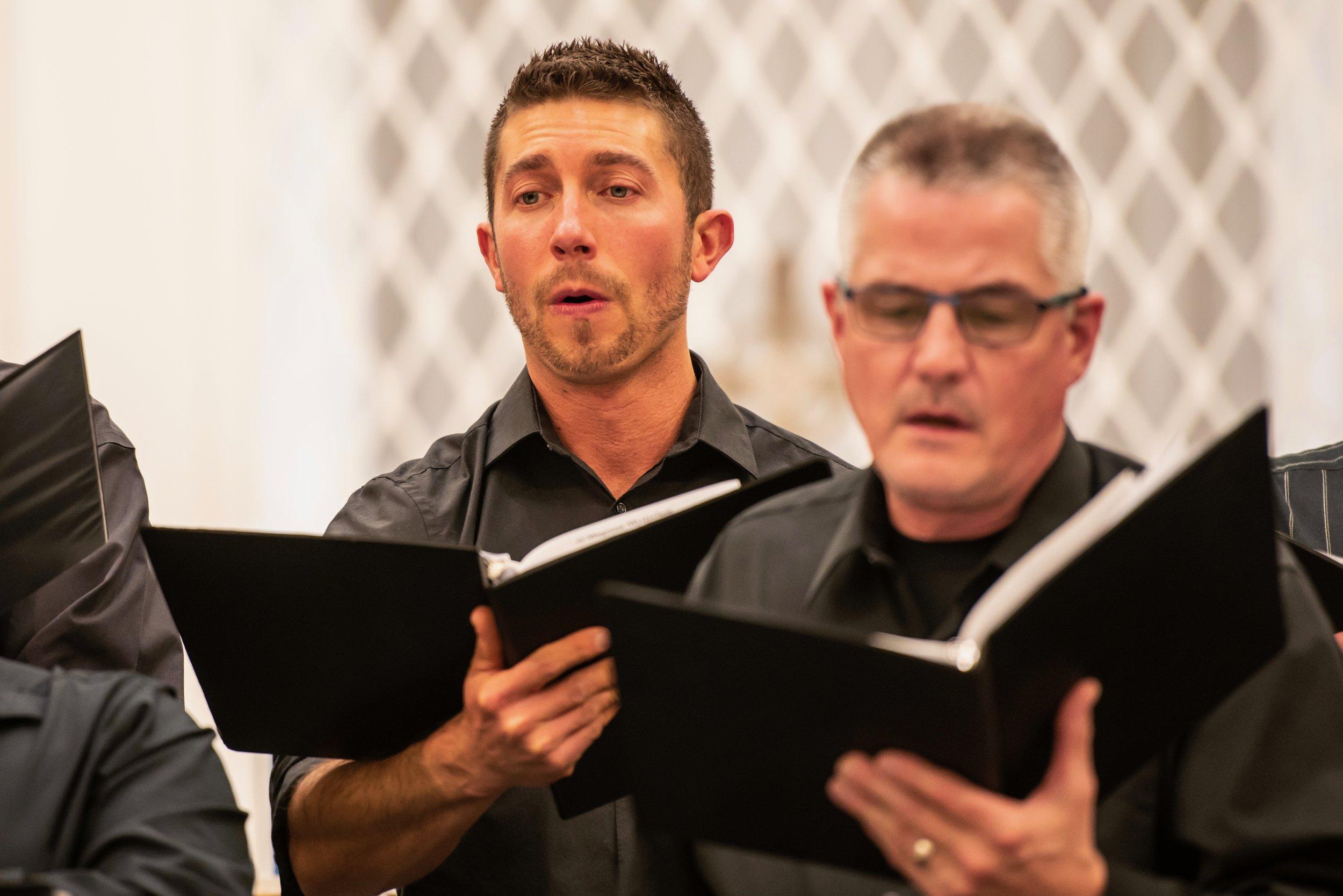 Men of Bella Voce Chamber Choir