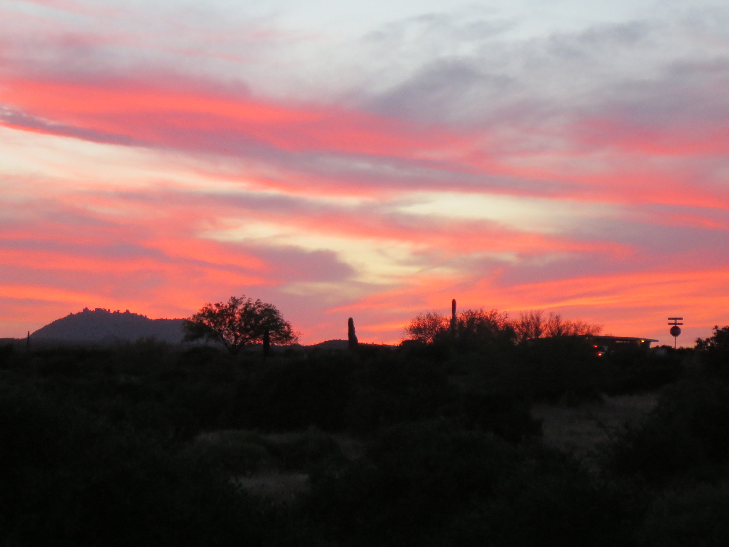 Nothing beats sunsets in the Southwest.