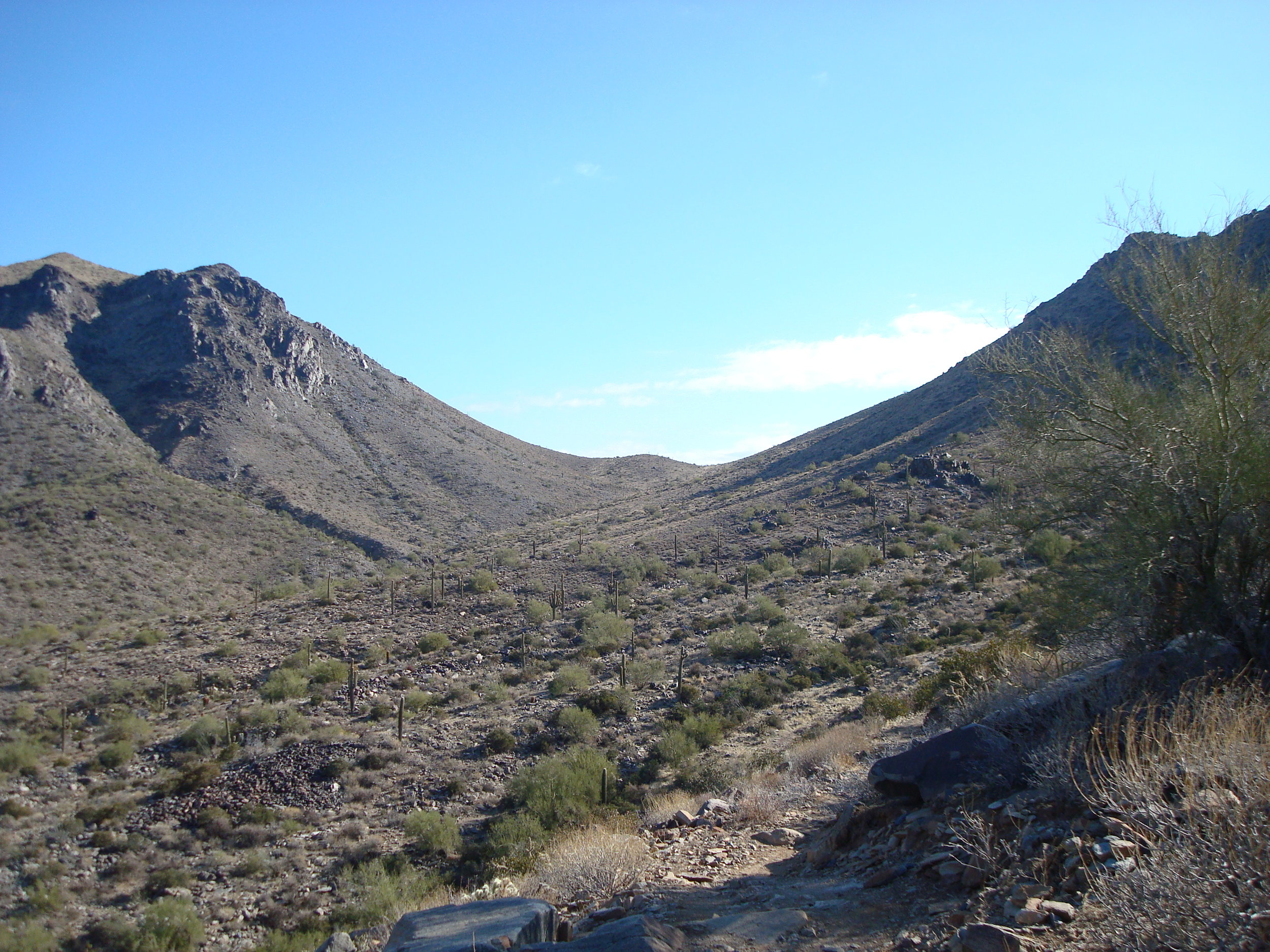 Windgate Pass in the McDowell Mountains