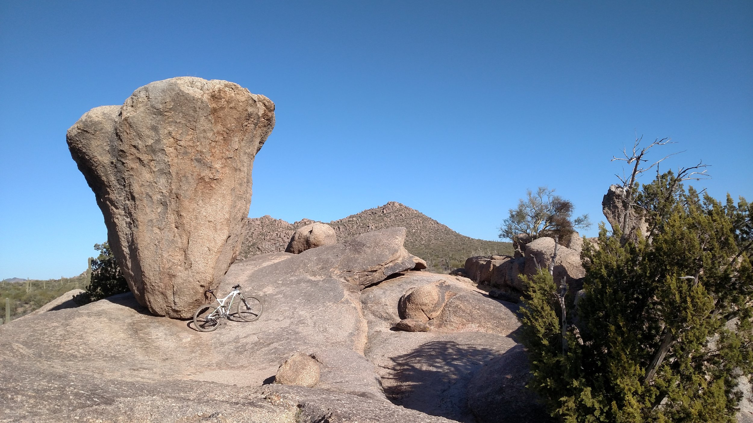 Balanced Rock in Brown's Ranch.