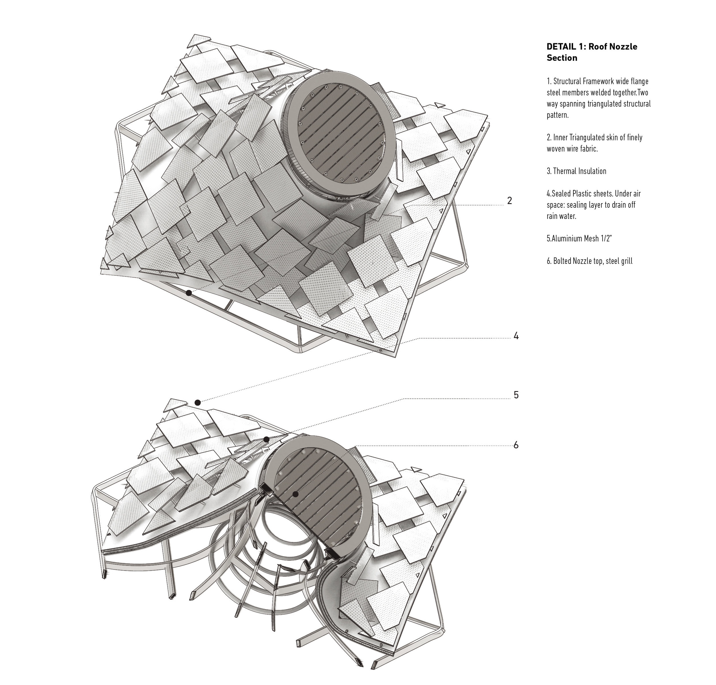 Transformed Detail-Roof Nozzle