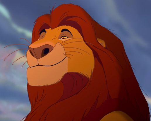 fig 1.  Mufasa  courtesy to Walt Disney Animation Studio
