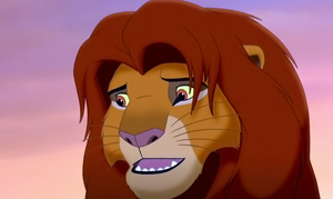 fig 2. Simba courtesy to Walt Disney Animation Studio
