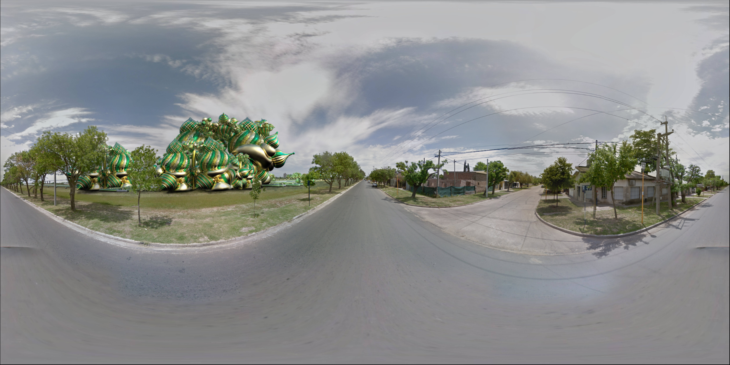Raw 360 Degree Street View 01: South East Side