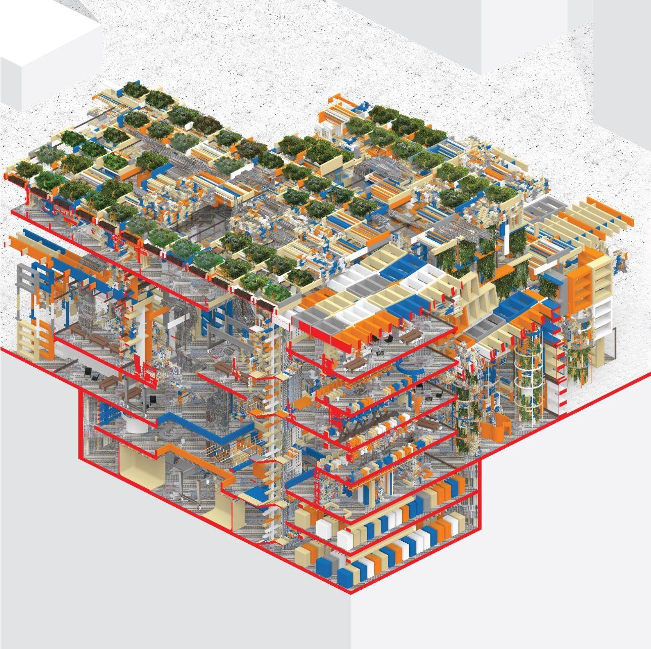 Detailed Axon Chunk