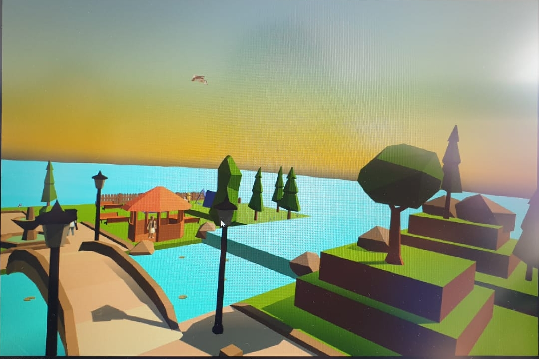 """Proyecto ganador """"Imagination Island"""" desarrollado por Valentina Pineda y Mateo Ramírez"""