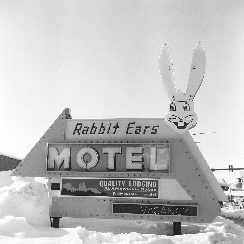 Rabbit Ears Motel in Steamboat Springs, Colorado.
