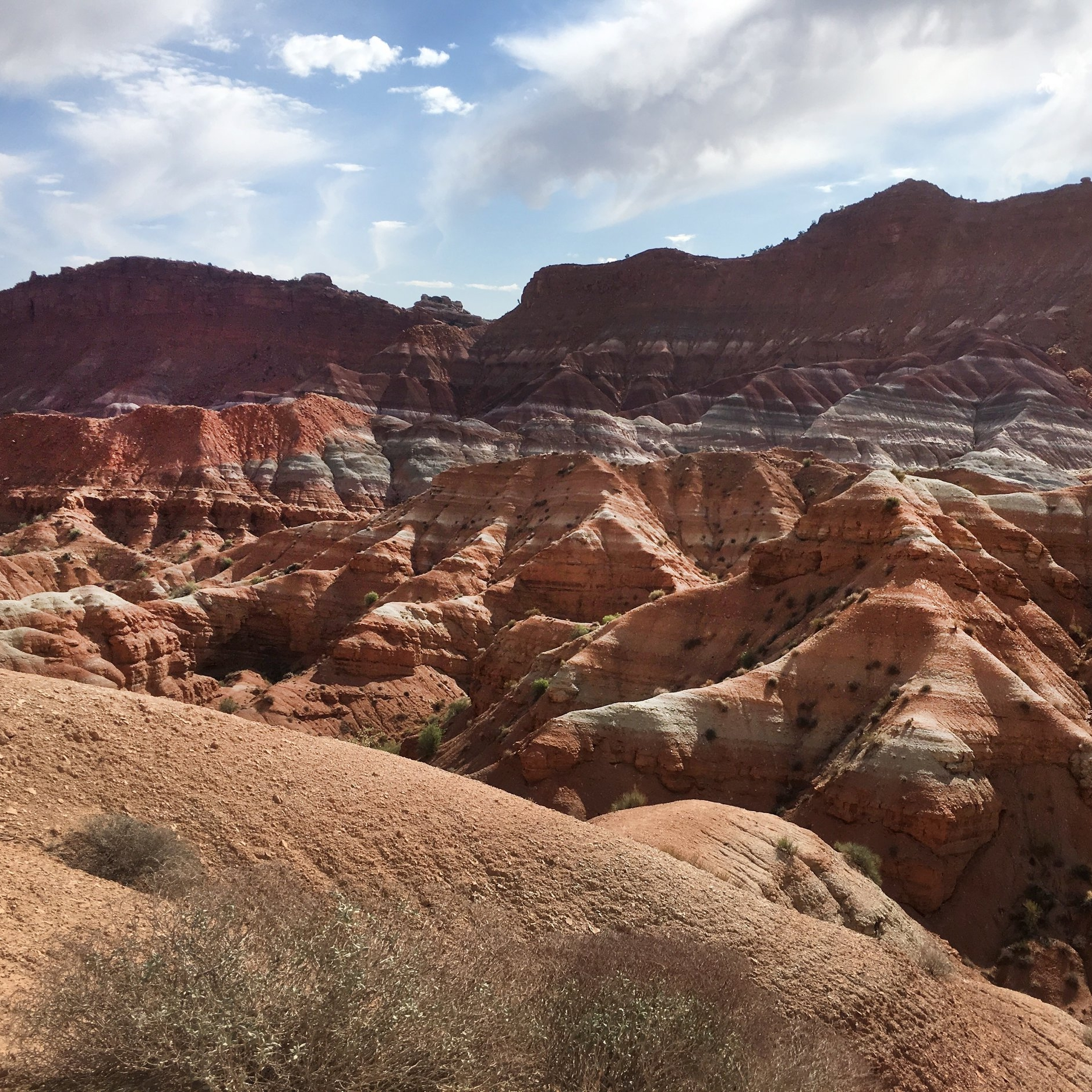 Sitting in the painted desert is the Paria Ghost Town.