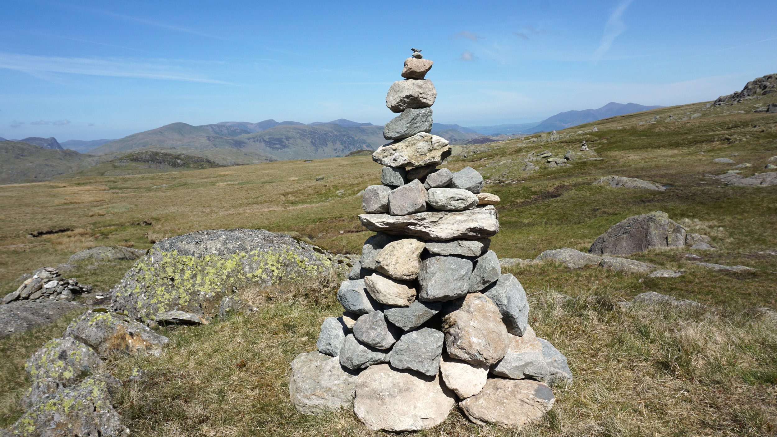 Cairns to mark the way