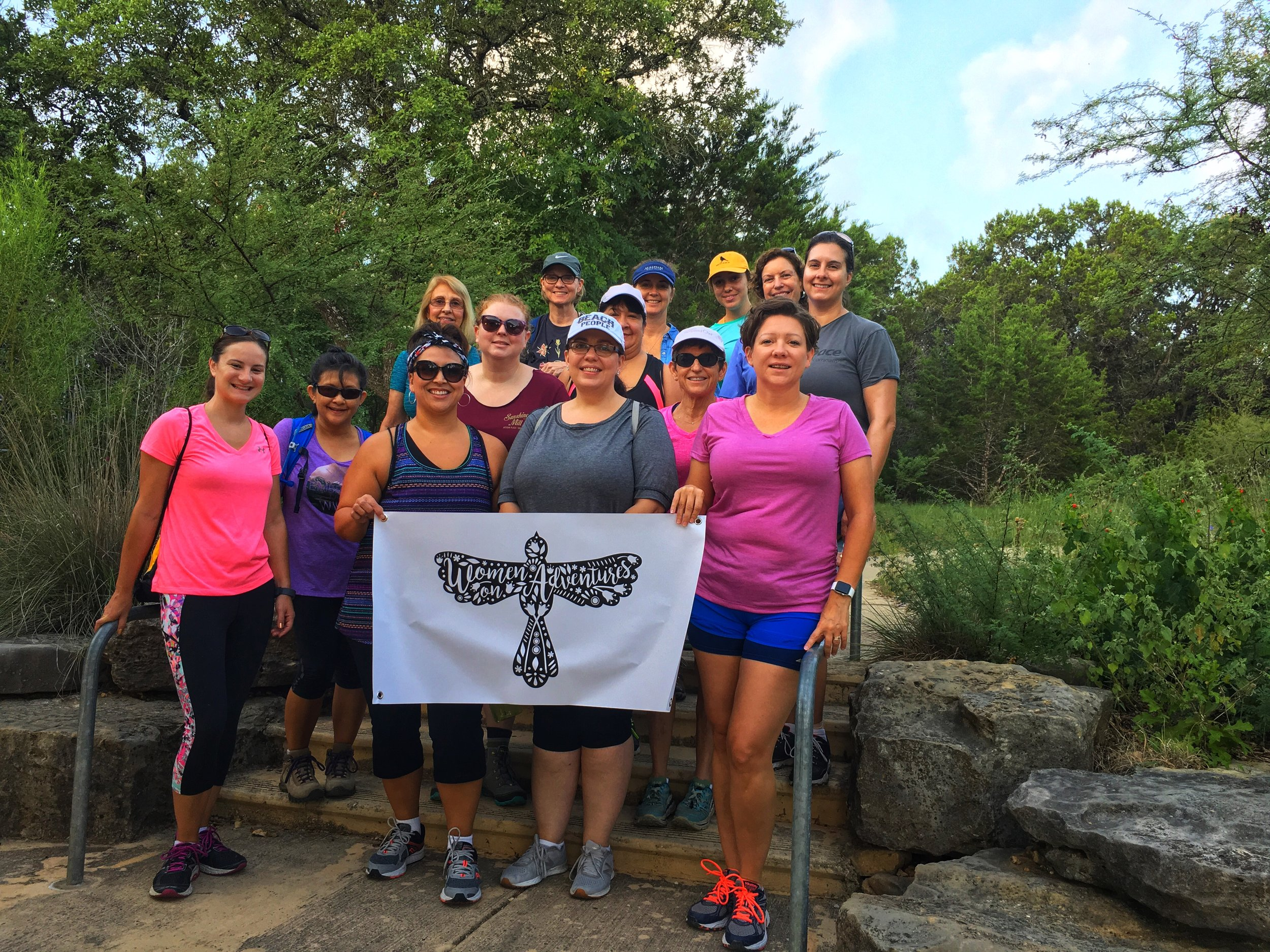 San Antonio WOA outpost on a hike and brunch.