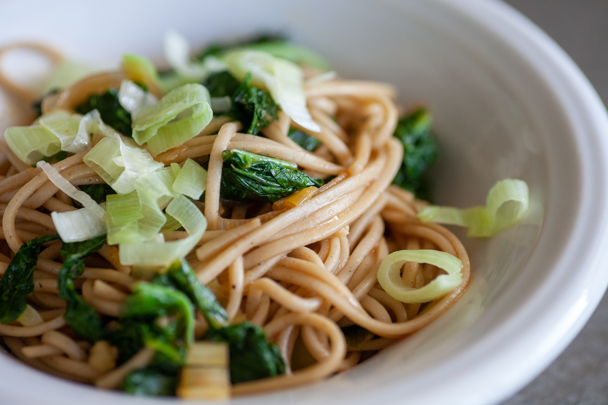 Soba noodles from Milk Street Tuesday Nights cookbook.