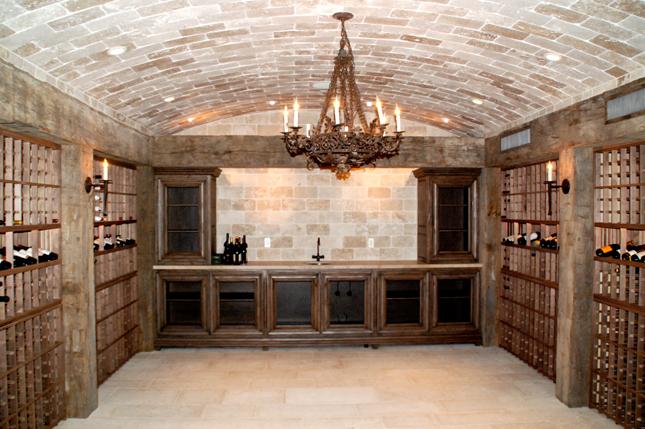 Rustic Brick Cellar