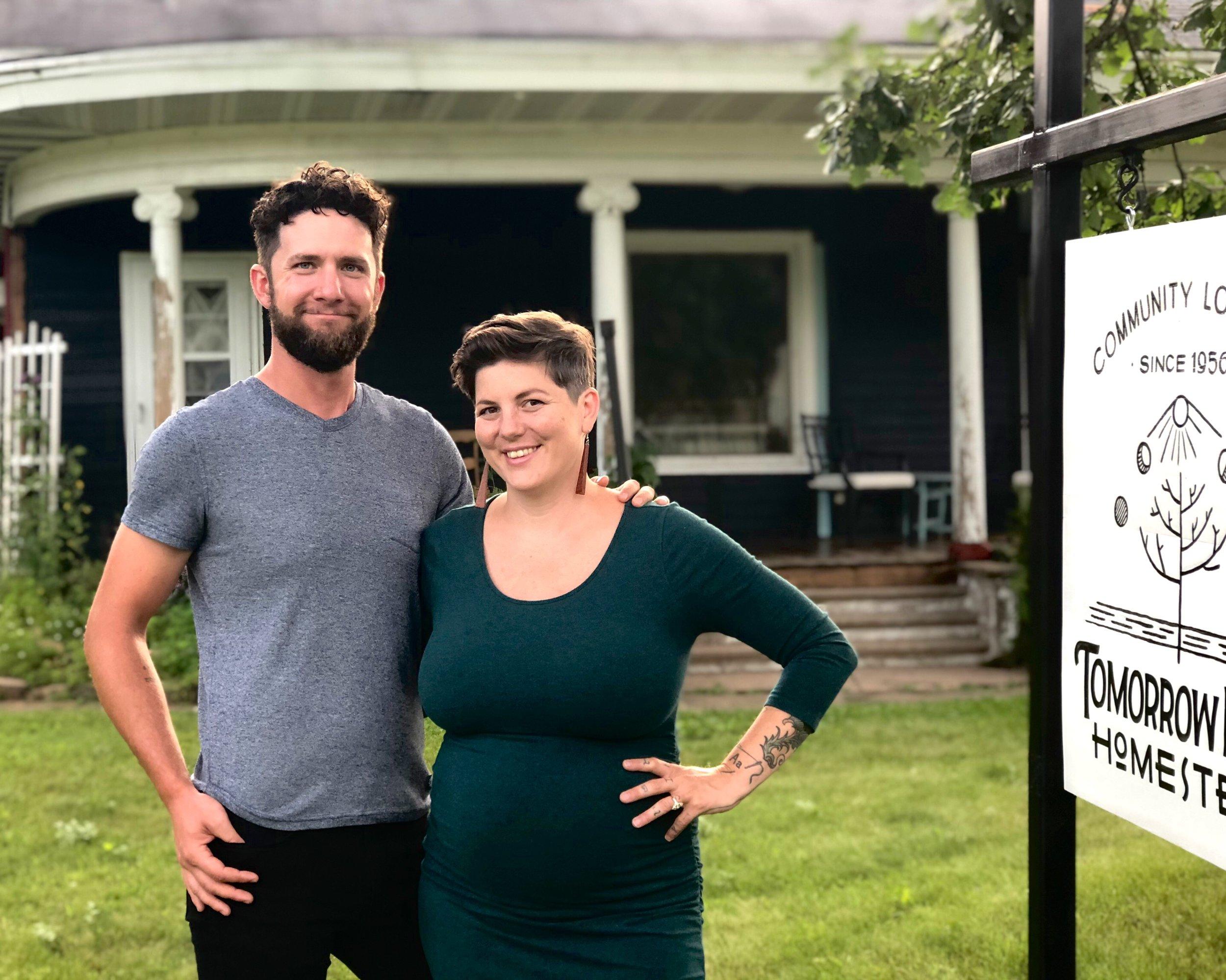Isiah Miller and Rubina Martini — Owners of Tomorrow River Homestead