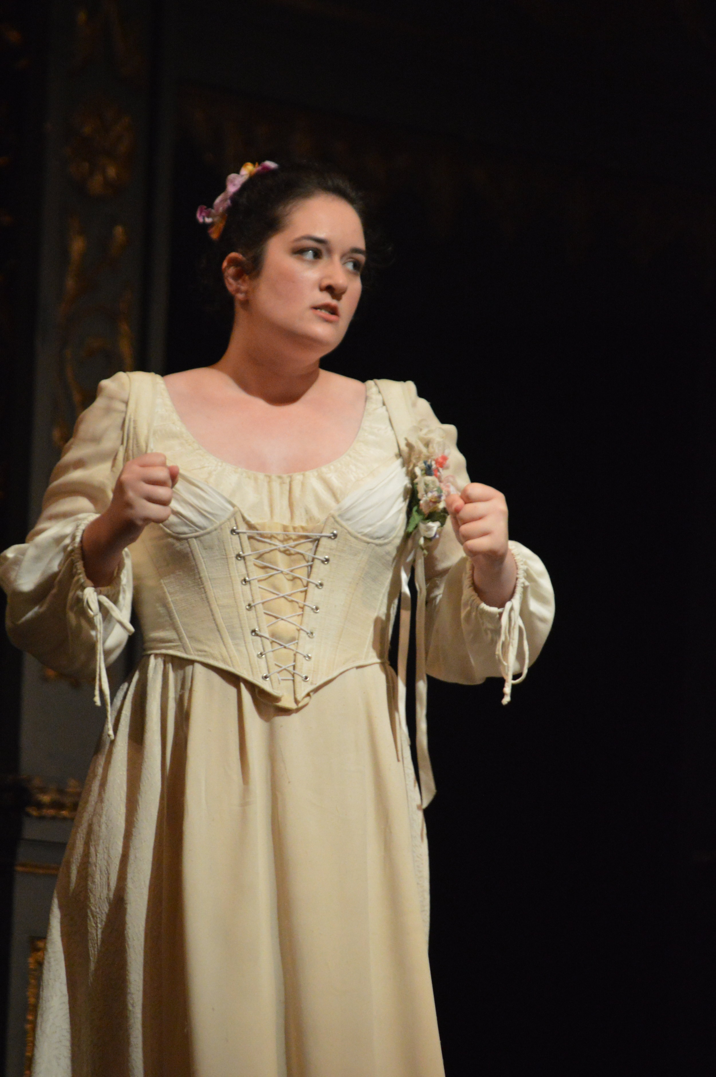 Zerlina in  Don Giovanni  with Prague Summer Nights, 2019 Production. Copyright Classical Movements The performances were made possible through the support of the Opera of the National Theatre, who have provided the set and costumes. Scenographer: Josef Svoboda; Costume designer: Eva Farkašová-Zálešáková Conducted by John Nardolillo; Directed by Pat Diamond