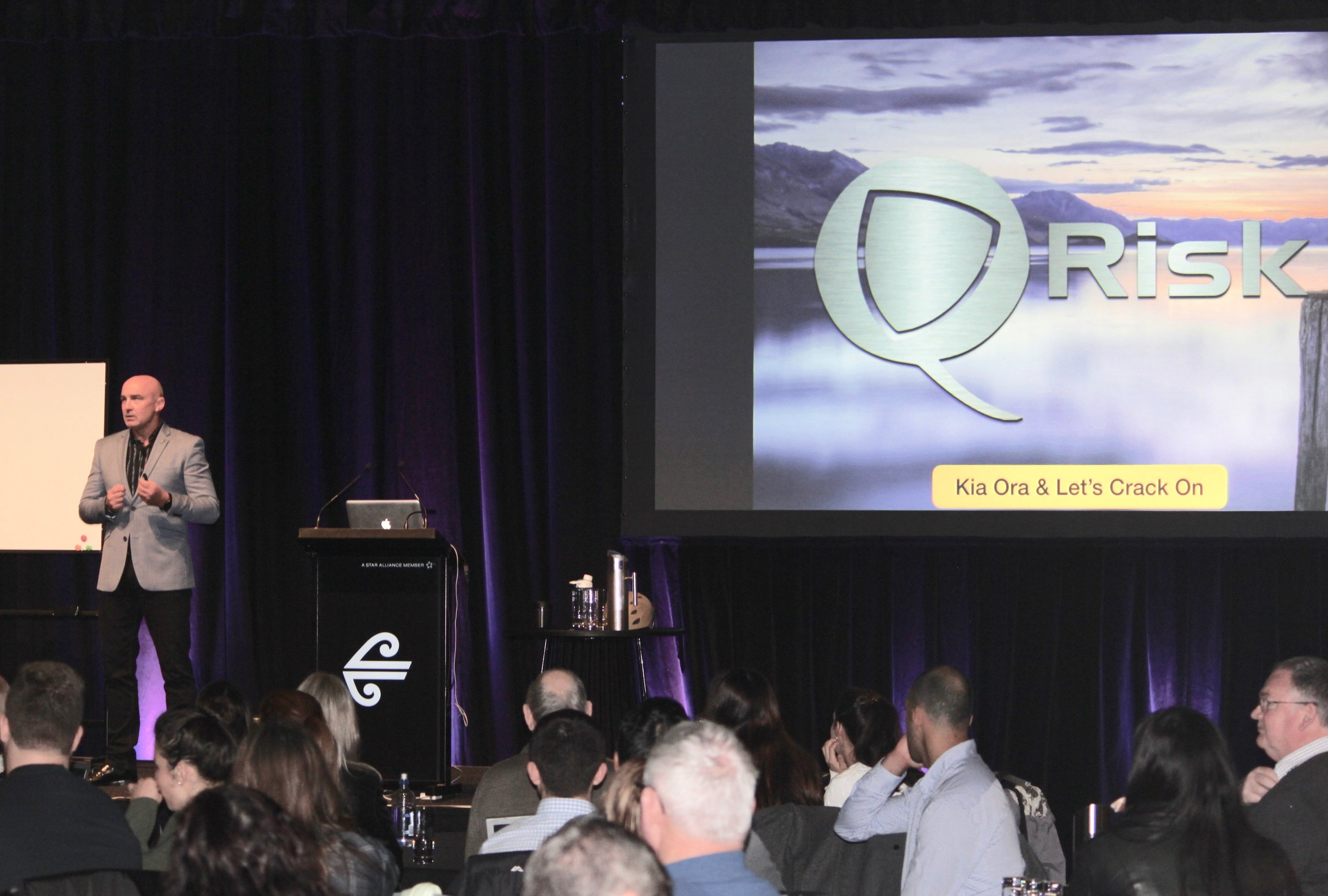 Presenting at the Air NZ Health & Safety Forum 2018