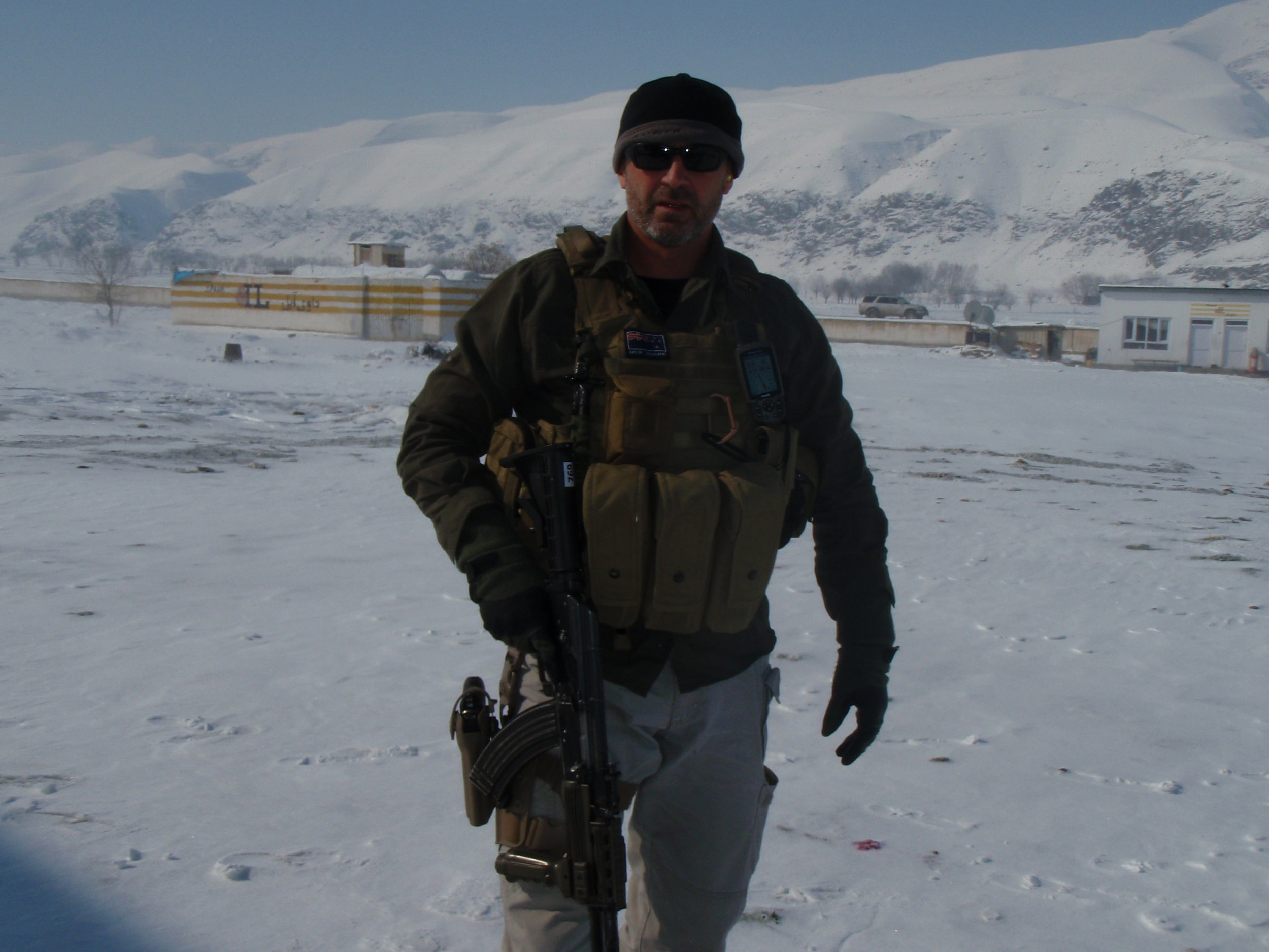 """NORTHERN AFGHANISTAN - There is a story as to why this picture is called """"not the four seasons hotel"""" - Learn more from this adventure. Our H&S talks , to being involved in a helicopter crash in this part of the world - not ideal but plenty to learn."""