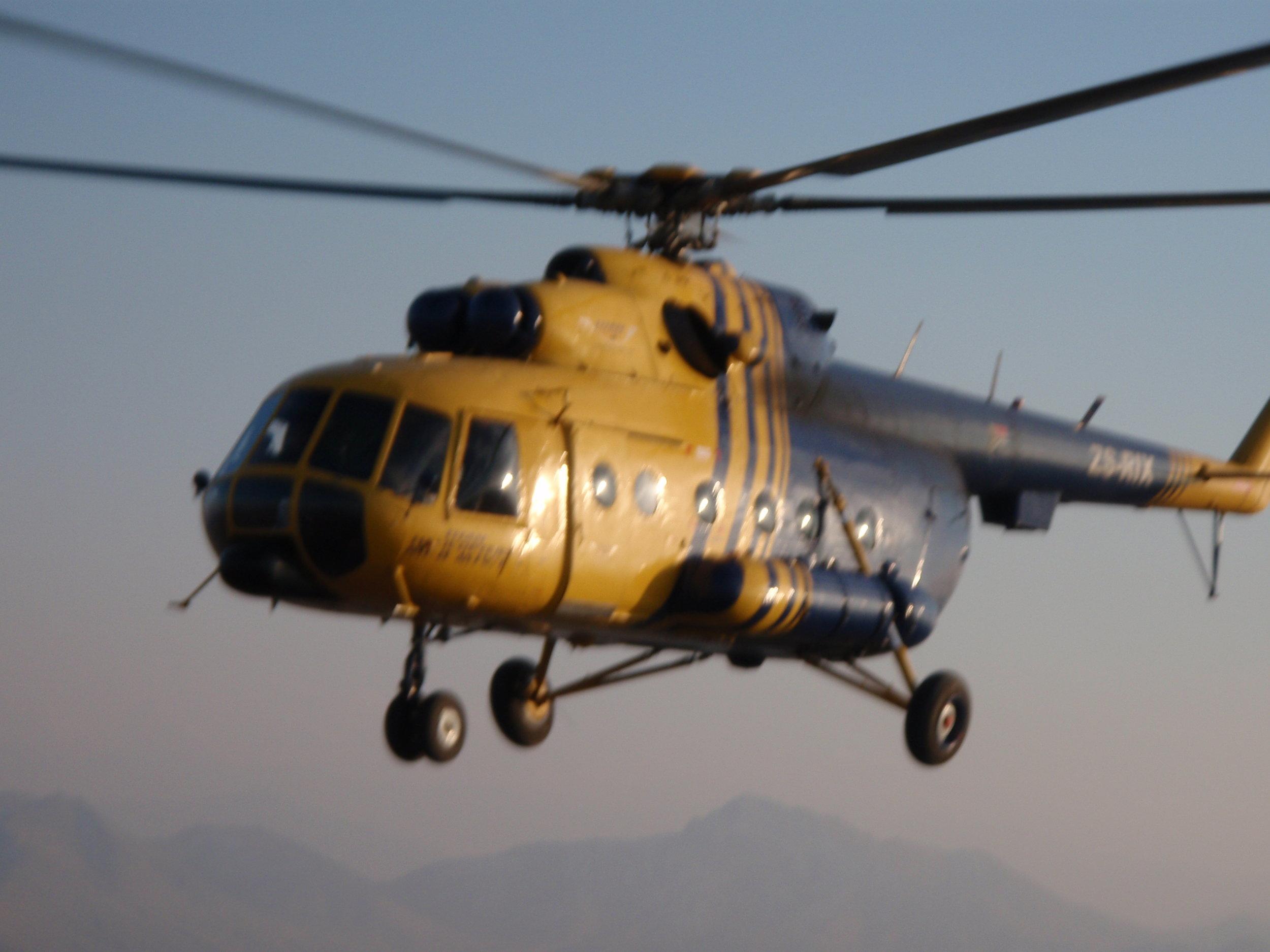 Helicopter Crash Afghanistan | QRisk keynote