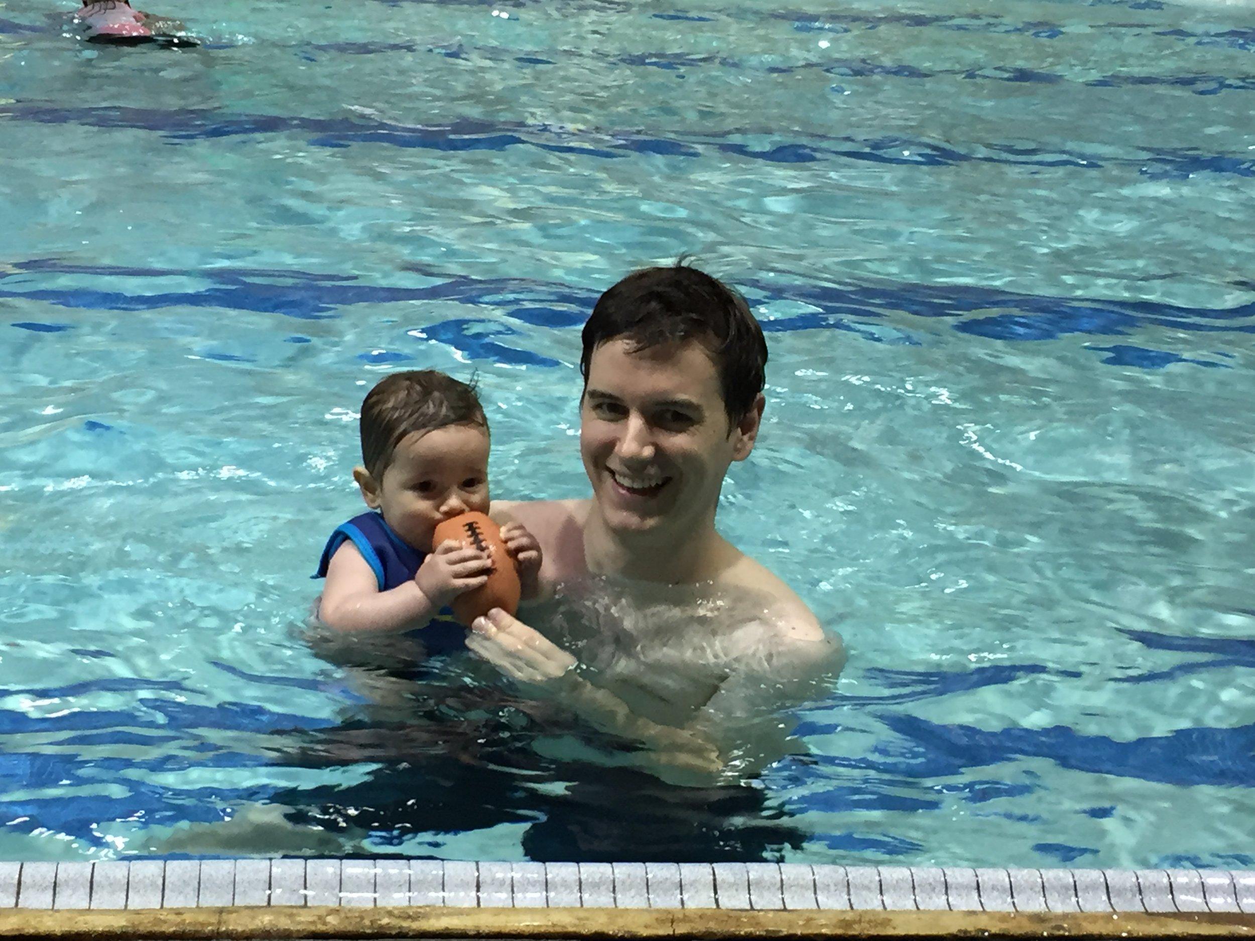 Swim class. May 16, 2016.