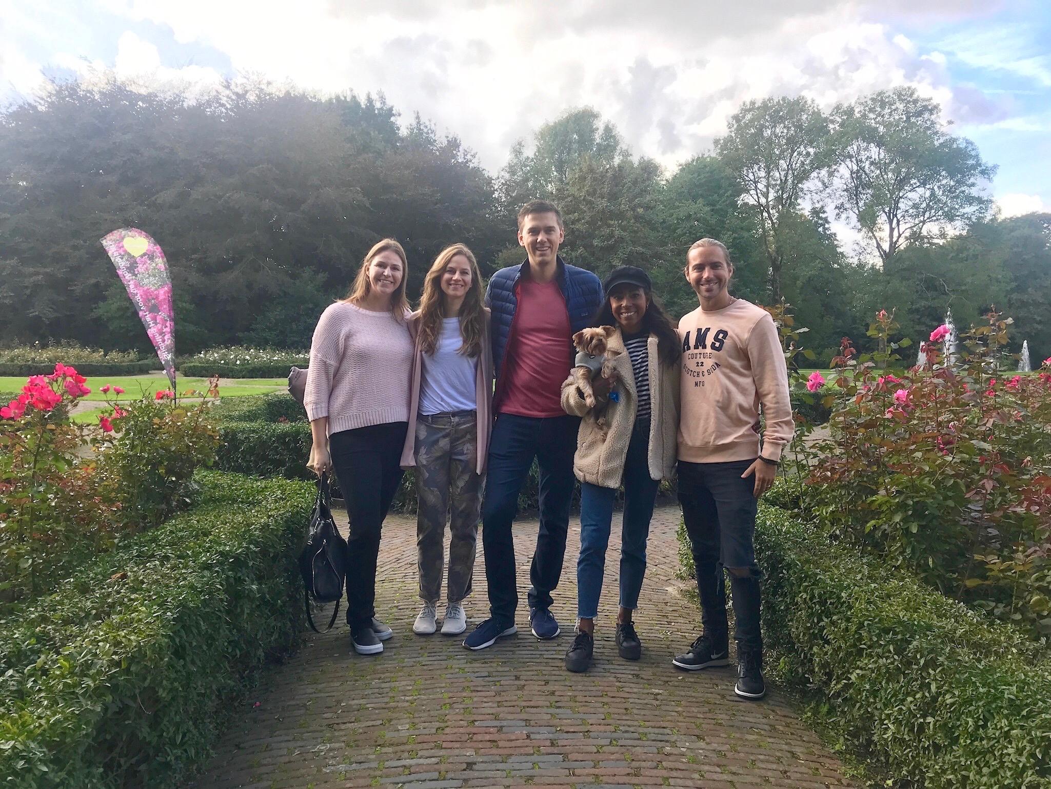 Schuyler, Jordan, James, & Friends (Amsterdam)