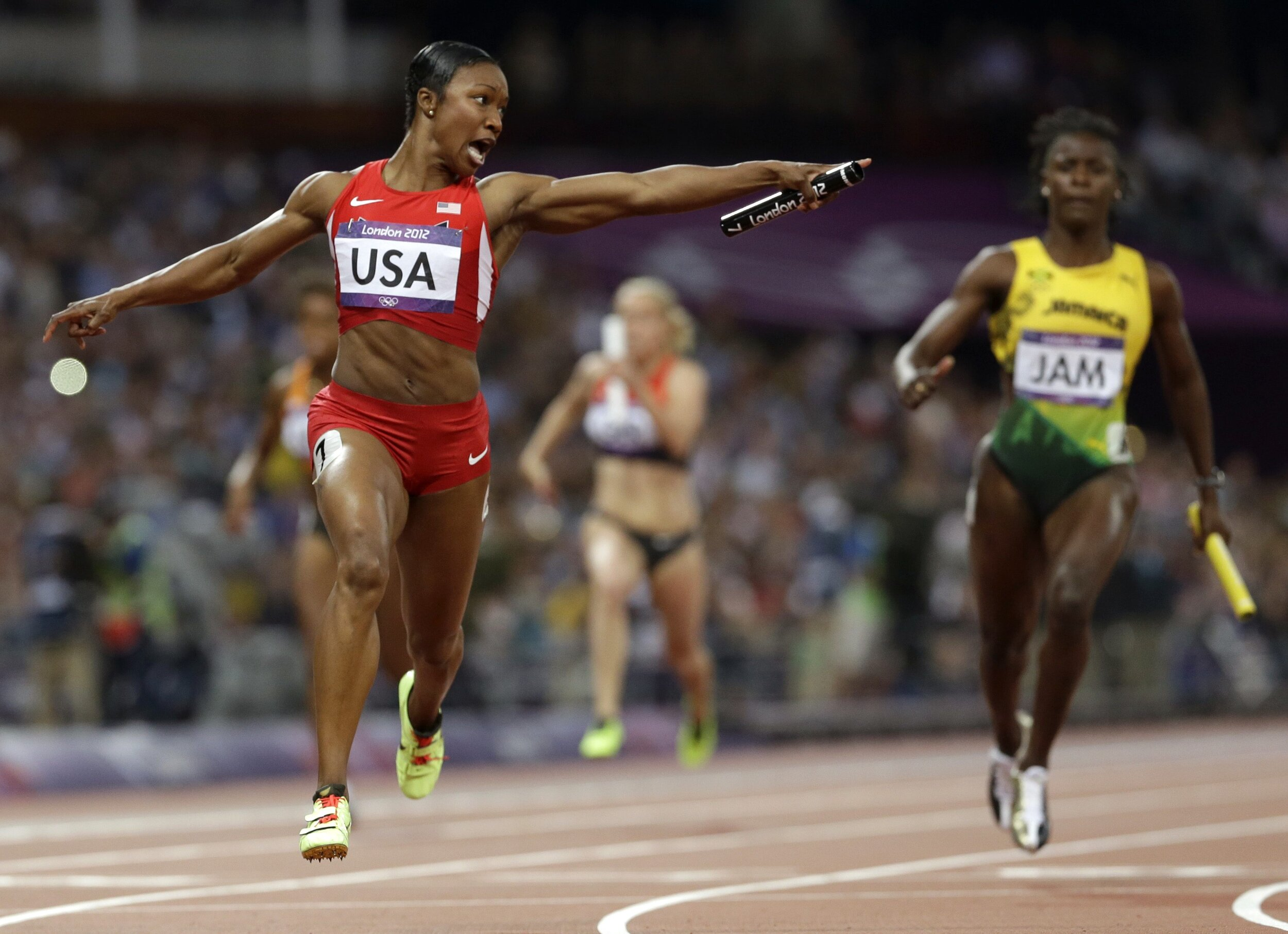"""Ep 1: Carmelita Jeter - The Fastest Woman Alive. Sprinter Carmelita Jeter won gold, silver, and bronze medals at the 2012 London Olympics. Oh, and she's also nicknamed the """"The World's Fastest Woman"""" for having 3 of the top 10 fastest times in the women's 100m. Carmelita went from starting track in high school, going to a Division II college, to becoming a world class sprinter. She talks about what it took to get there and her interest in motivating others. Carmelita is also the associate head coach for the Track & Field team at Missouri State University.EPISODE DROPS OCTOBER 28THLISTEN TO THE EPISODE"""