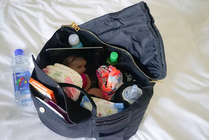 NAPPY SOCIETY INSERT - turns any tote in to a nappy/baby bag!