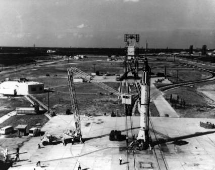 LC-5,1961. (Photo: AF Space &Missile Museum)