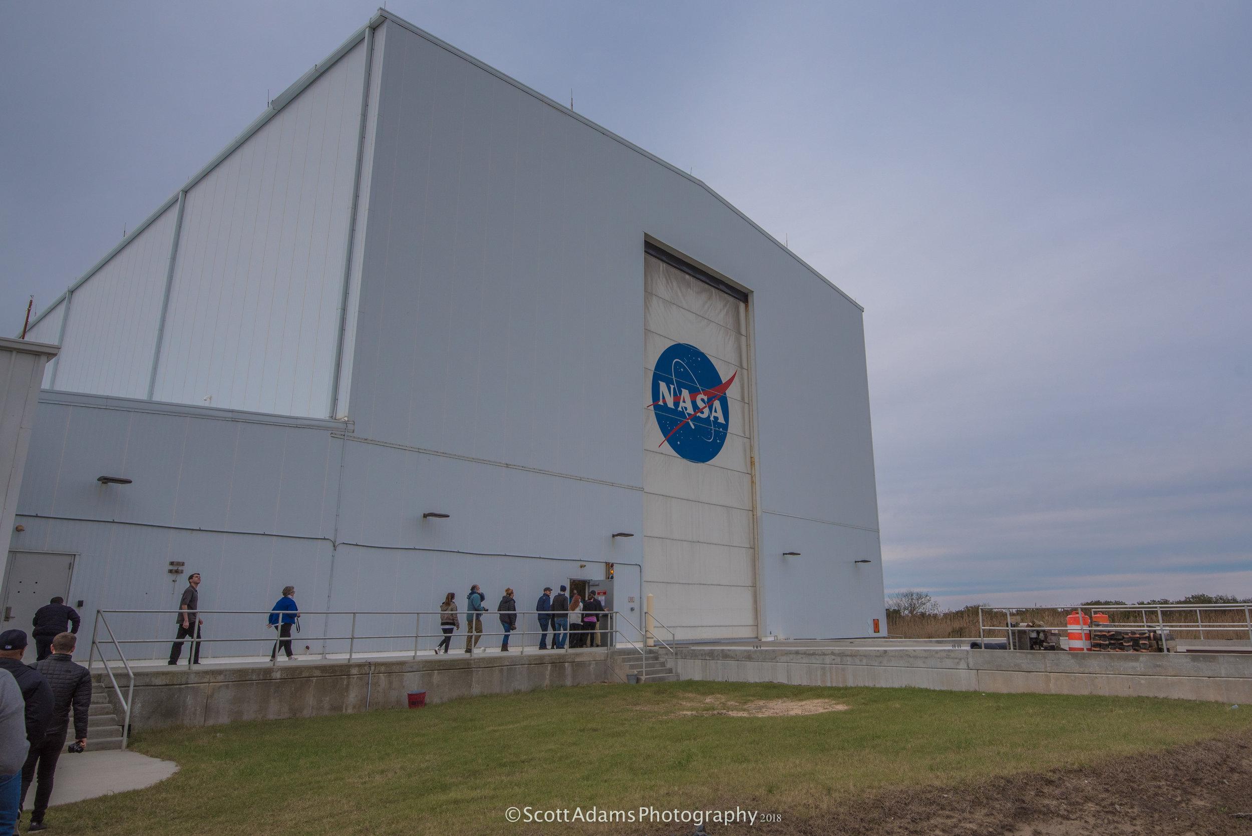 Exterior of the voluminous HIF. (Photo: Scott Adams)